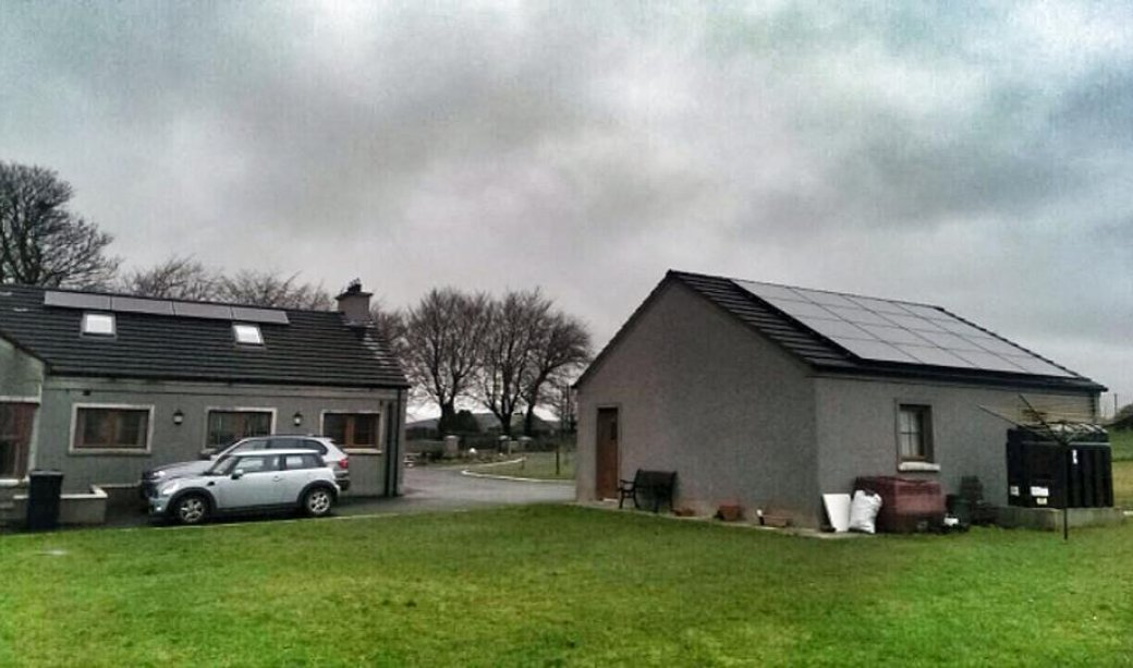 Image of 5Kw Pv Solar system with PV Harvester