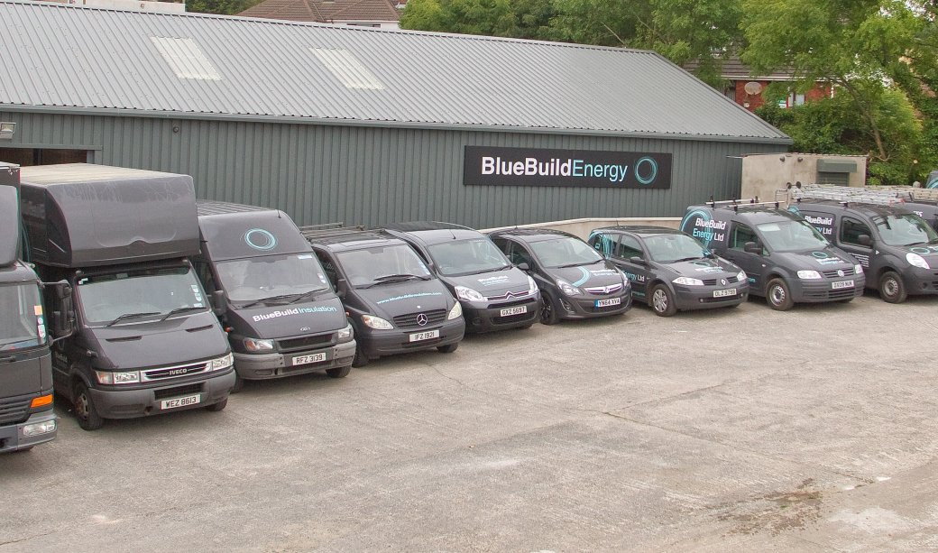 The BlueBuild Energy & Insulation Fleet