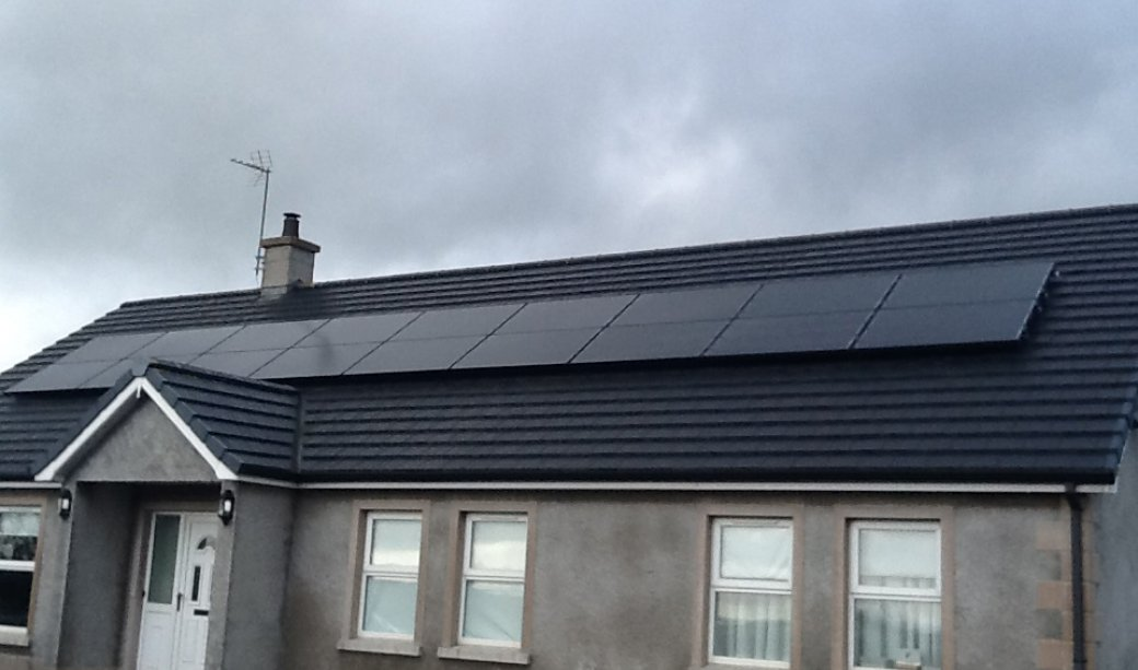 Image of 4.5 Kw Pv Solar Installation in Clough, Ballymena