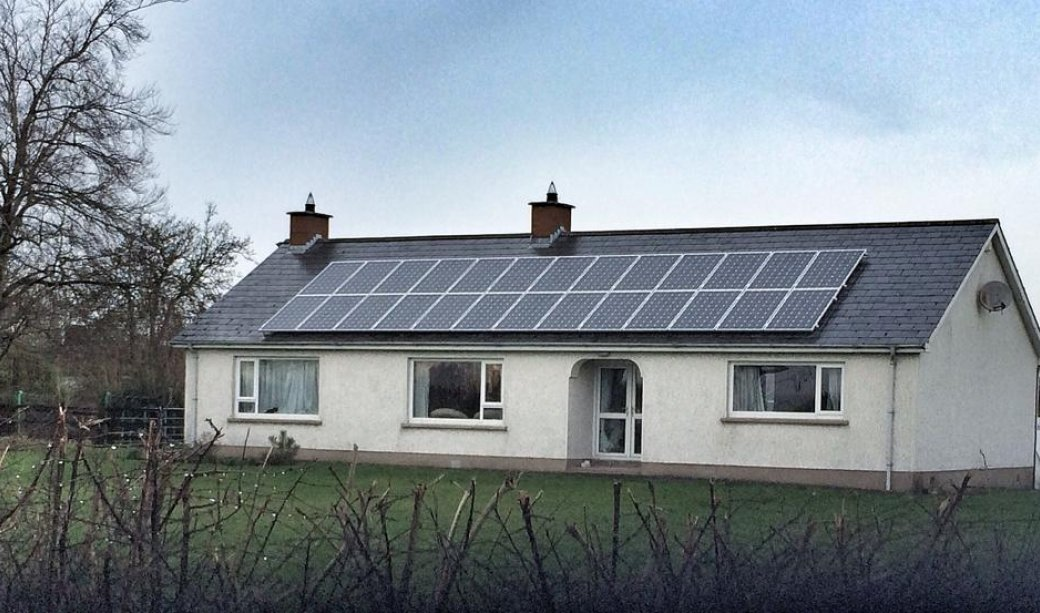 Image of A 6.5Kw PV Installation on the Drumcill Road, Lisburn
