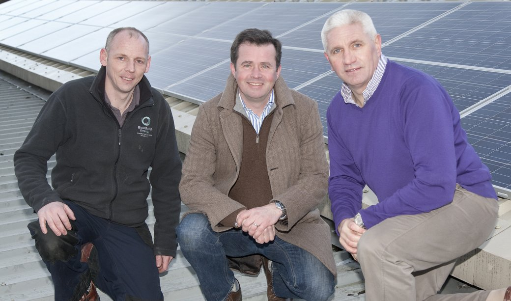 Image of 20Kw system at Spectator Newspapers, Bangor