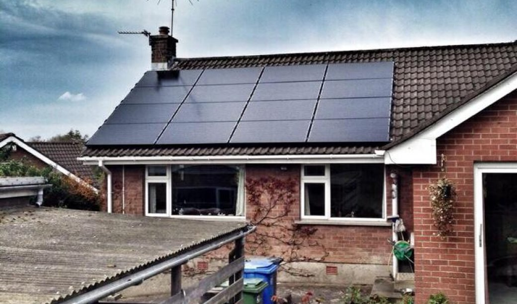 Image of 4Kw PV Solar Array in Holywood, Co Down