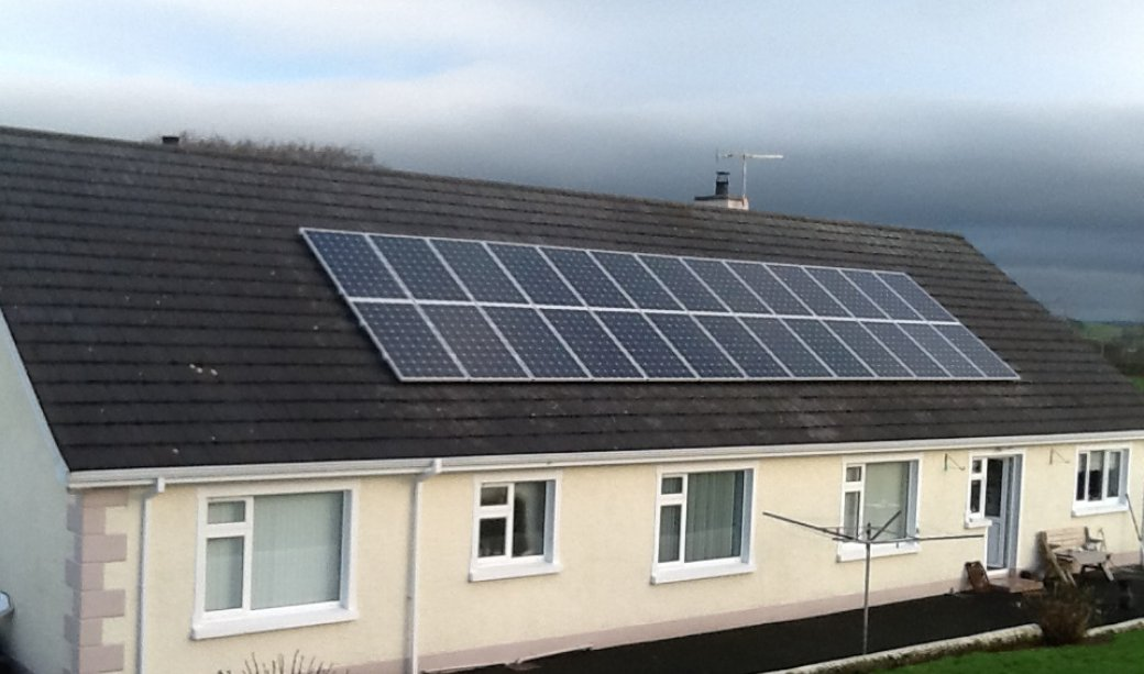 Image of 6.5Kw PV Installation with Tigo PV Harvester and Smart Immersion in Glarryford.