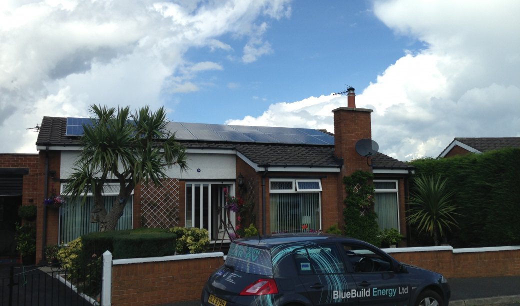 Image of 20 Panel 5kW PV SOLAR ARRAY