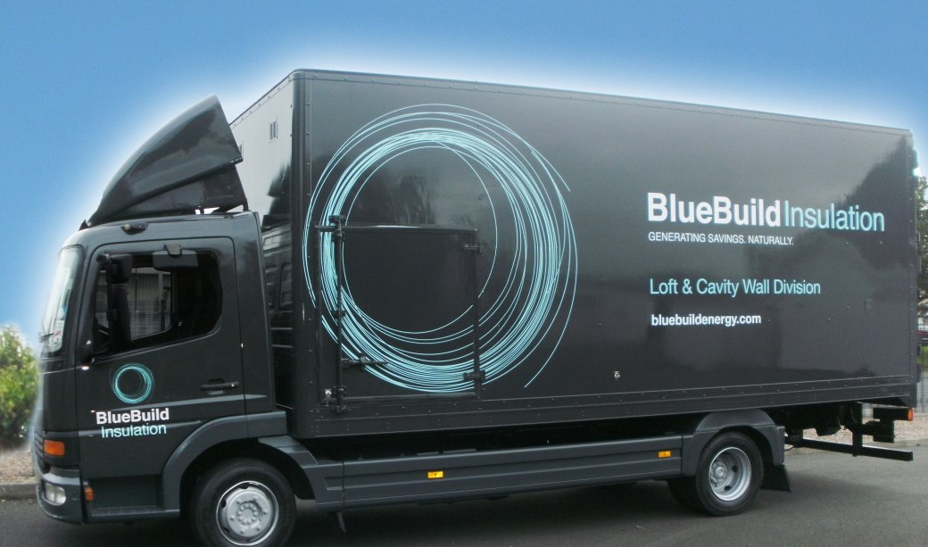 BlueBuild Insulation Lorry