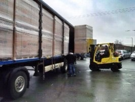BlueBuild's Latest Delivery of Photovoltaic Solar Panels Arrives From Germany