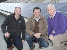 20Kw pv system with Tigo Harvester Installed at Spectator Newspapers in Bangor.