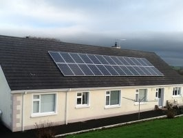 Another example of a 6.5 Kw Pv Installation with PV Harvester & Smart Immersion in County Antrim.