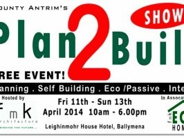 Come and visit the BlueBuild Energy & Insulation Stand at the Plan 2 Build Show this weekend in Ballymena!