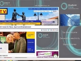 BlueBuild Energy Takeover the UTV Homepage